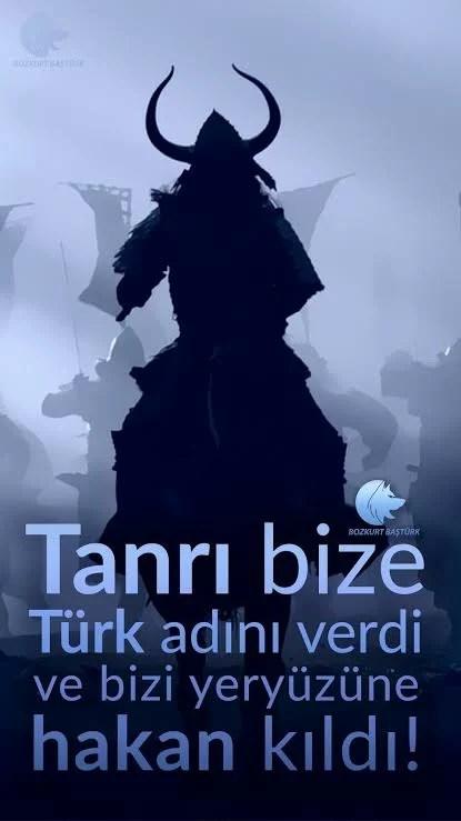 Tanrı bize Türk adını verdi ve bizi yeryüzüne hakan kıldı - Ülkücü İle İlgili Resimli Sözler - Ülkücü Sözleri, Milliyetçilik, Türk Sözleri, resimli-sozler, populer-sozler, guzel-mesajlar, anlamli-sozler