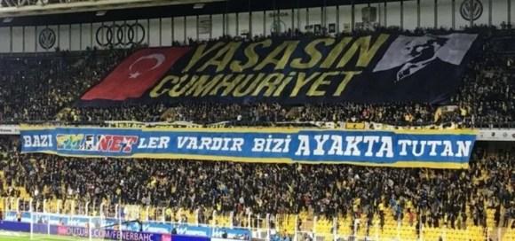 Yaşasın Cumhuriyet - Fenerbahçe İle İlgili Resimli Sözler - Fenerbahçe Sözleri Ve Kareografileri, resimli-sozler