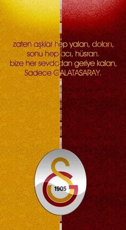 Zaten aşklar hep yalan dolan sonu hep acı hüsran bize her sevdadan geriye kalan sadece Galatasaray - Galatasaray İle İlgili Resimli Sözler - Galatasaray Sözleri Ve Kareografileri, resimli-sozler