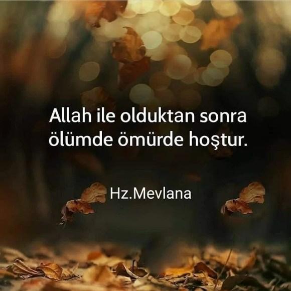 Allah ile olduktan sonra ölümde ömürde hoştur - Resimli Ölüm, Veda Sözleri - Veda Mesajları Ve Sözleri, resimli-sozler, guzel-sozler