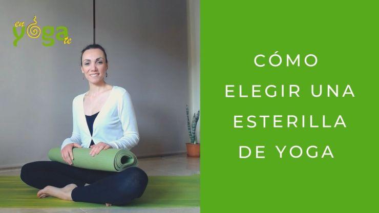 Cómo elegir una esterilla de yoga