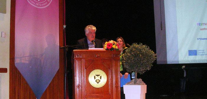 Comenius: Στην τελετή υποδοχής ο δήμαρχος