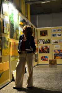 Περίπτερο στο Maroussi Art People Festival