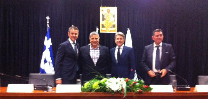 Οι Gain Paolo Montali και Alessandro Costacutra στο Μαρούσι