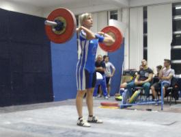Παναγιώτα Μούρμουρα - αθλήτρια Άρσης Βαρών ΠΑΚ Χαλανδρίου