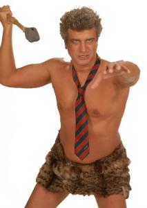 Ο Βλαδίμηρος Κυριακίδης ως Caveman