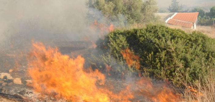 Υψηλός κίνδυνος πυρκαγιάς τη Δευτέρα