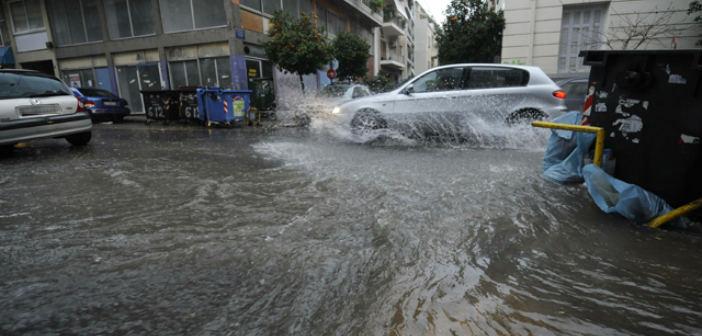 Καταγραφή ζημιών σε οικίες, λόγω των πλημμυρών, στον Δήμο Πεντέλης