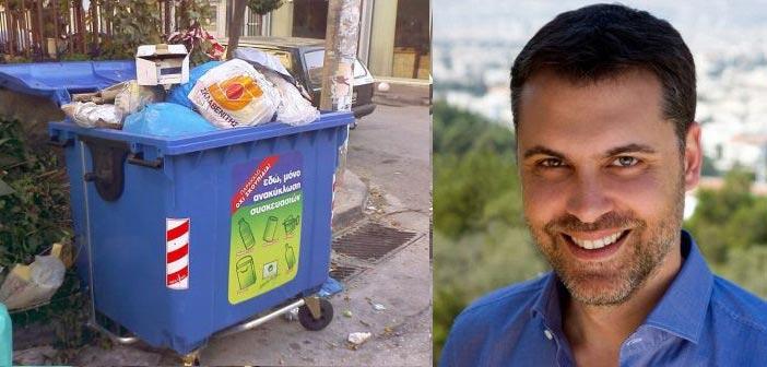 Ιωάννης Σιδέρης: Έχει πάρει… ζεστά τη διαχείριση απορριμμάτων