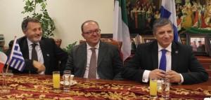 Συνέντευξη Τύπου Γιώργου Πατούλη και Marco Galdi