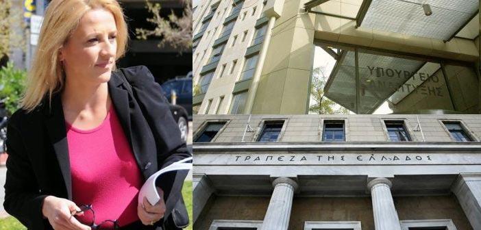 Για πολιτικές σκοπιμότητες κατηγορεί ΥΠΑΝ και ΤτΕ η Ρένα Δούρου
