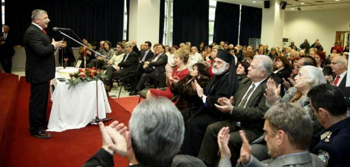 Μήνυμα αισιοδοξίας στην κοπή της πίτας του Δήμου Αμαρουσίου