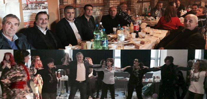 Στις γιορτές των εργαζομένων του Δήμου ο Γιώργος Πατούλης
