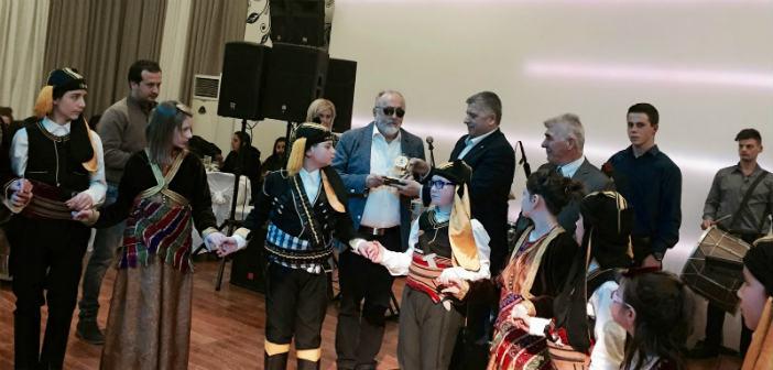 Τον υπουργό Υγείας βράβευσε ο δήμαρχος Αμαρουσίου