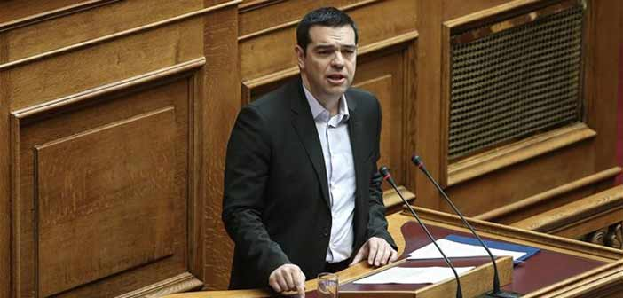 Αλέξης Τσίπρας: «ΟΧΙ απειλές στην κυβέρνηση και τον ελληνικό λαό»