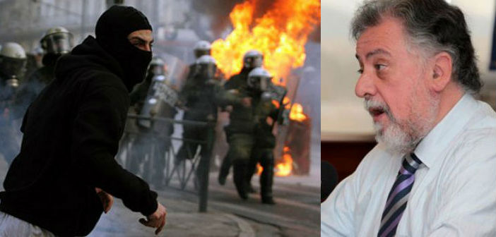 Γ. Πανούσης: «Αν οι αναρχικοί θέλουν πόλεμο, η Δημοκρατία θα απαντήσει»
