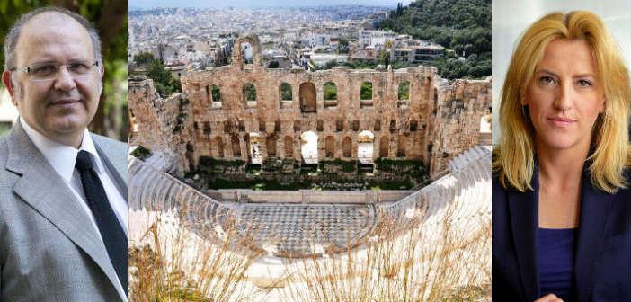 Την ανάληψη κοινών πολιτιστικών δράσεων συζήτησαν Ν. Ξυδάκης – Ρ. Δούρου