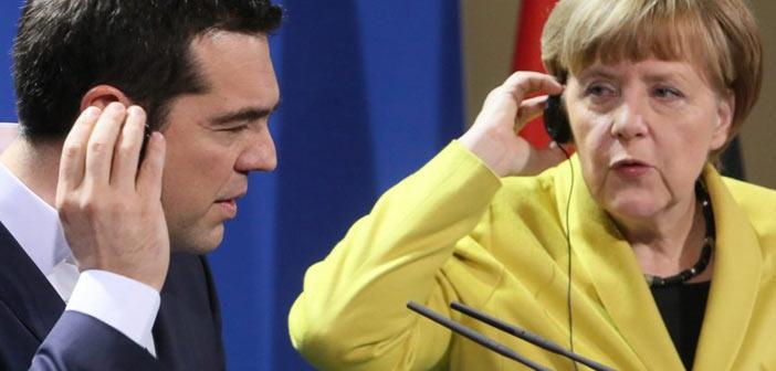 «O Tσίπρας παρακαλεί για χρήματα τη Μέρκελ από το τηλέφωνο» γράφει η FAZ