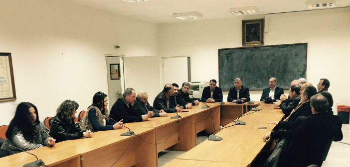 Ορεινές περιοχές της Αιτωλοακαρνανίας επισκέφθηκε ο πρόεδρος της ΚΕΔΕ