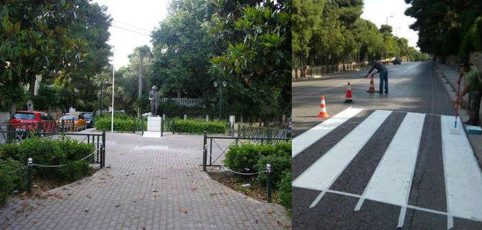 Ολοκληρώθηκε η ανάπλαση της πλατείας Μνημείου Πεσόντων Αγωνιστών