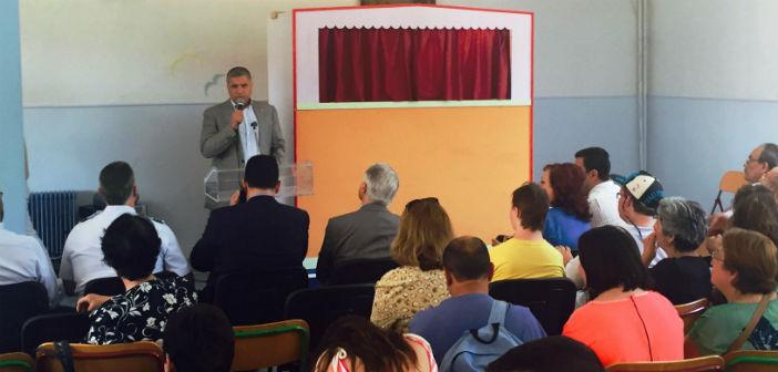 Τη γιορτή των παιδιών του Σικιαριδείου χαιρέτησε ο δήμαρχος Αμαρουσίου