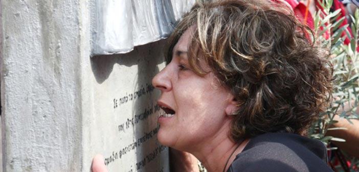 Μάγδα Φύσσα: Συνένοχος στη δολοφονία του Παύλου όποιος ψηφίζει Χρυσή Αυγή