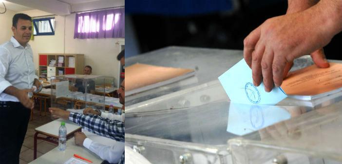 Στο Μαρούσι άσκησε το εκλογικό του δικαίωμα ο Γ. Καραμέρος