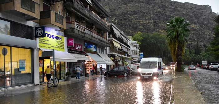«Βροχή» προβλημάτων από τις καταιγίδες