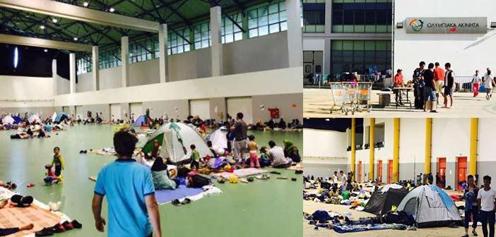 Αποστολή βοήθειας από τον Δήμο Αγ. Παρασκευής στους πρόσφυγες στο Γαλάτσι