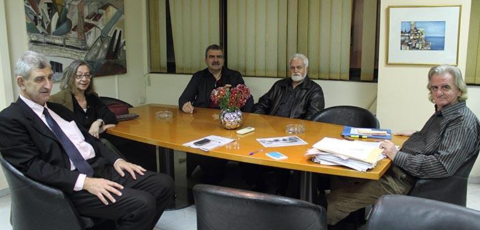 Συνάντηση Συλλόγου Αγίας Φιλοθέης Αμαρουσίου με τον δήμαρχο Ν. Ιωνίας