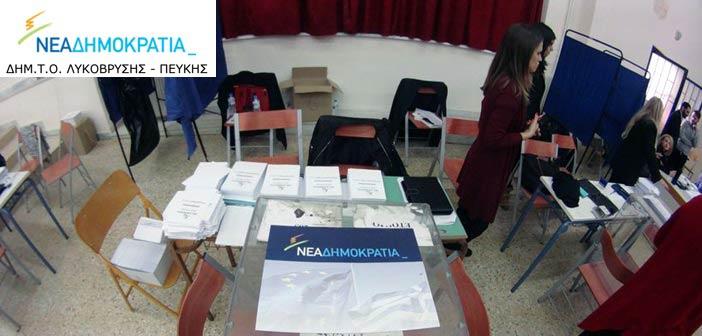 Ο Κ. Μητσοτάκης επικράτησε στον α΄ γύρο των εσωκομματικών εκλογών στη Ν.Δ.