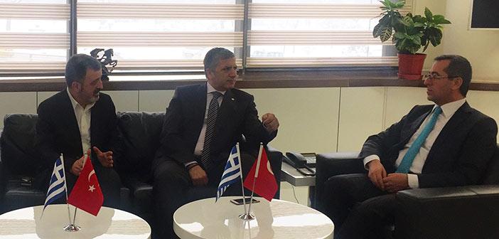Τον γ.γ. της Κεντρικής Ένωσης Δήμων Τουρκίας συνάντησε ο Γ. Πατούλης