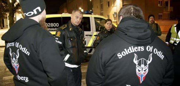 Ομάδες αυτοάμυνας έναντι προσφύγων στη βόρεια Ευρώπη