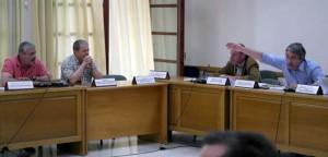 Στιγμές έντασης μεταξύ Λ. Κοντουλάκου και Κ. Τζουμάκα