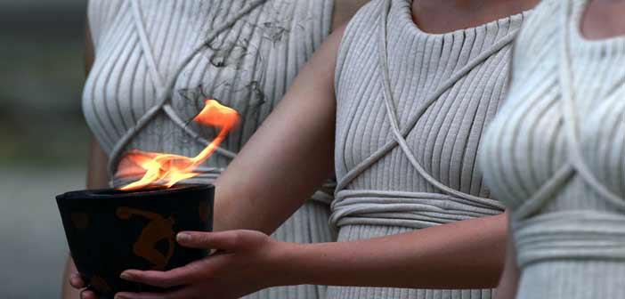 Στο Καλλιμάρμαρο η τελετή παράδοσης της Ολυμπιακής Φλόγας