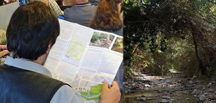 Κυκλοφορεί ο 1ος πεζοπορικός χάρτης Ρεματιάς Πεντέλης – Χαλανδρίου