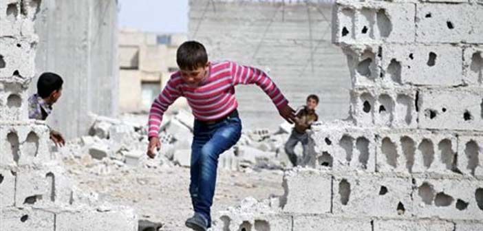 O Άσαντ βομβαρδίζει σκοτώνοντας παιδιά παρά την εκεχειρία
