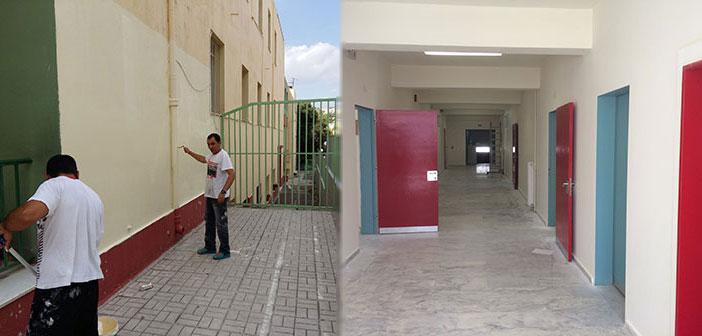 Απολογισμός παρεμβάσεων στις σχολικές μονάδες Ηρακλείου Αττικής