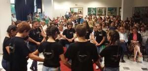 Χορευτικό στο πλαίσιο της εκδήλωσης απονομής των Βραβείων Περιβαλλοντικής Ευαισθησίας