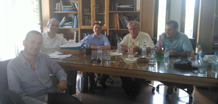 Με τον Γ. Θωμάκο συναντήθηκε αντιπροσωπεία των ΑΝ.ΕΛ. Κηφισιάς