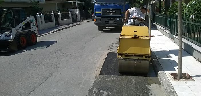 Έργα συντήρησης οδών & πεζοδρομίων δημοπρατούνται στον Δήμο Μεταμόρφωσης