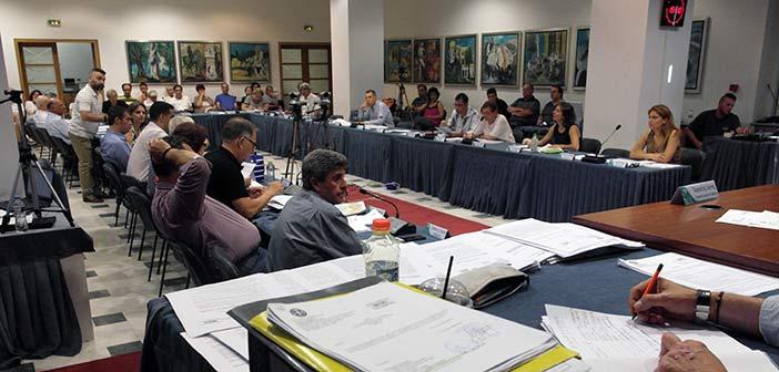 Συνεδρίαση Δημοτικού Συμβουλίου Αμαρουσίου στις 27 Σεπτεμβρίου