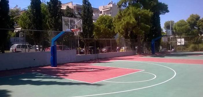 Κλειστό λόγω εργασιών το ανοιχτό γήπεδο μπάσκετ στου Παπάγου