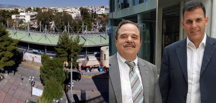 Συνάντηση Γ. Καραμέρου και Κ. Κουτρούλη για θέματα του Δήμου Ηρακλείου