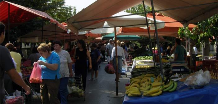 Στην οδό Πίνδου η λαϊκή αγορά Παπάγου από την Πέμπτη 14 Μαΐου
