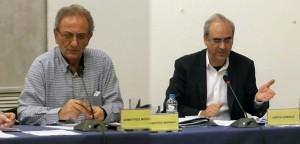 Δημήτρης Μωράκης και Γιώργος Θωμάκος