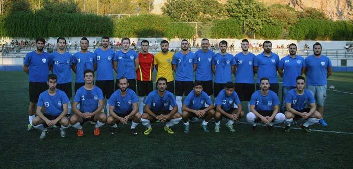 Ισοπαλία 1-1 στην Ελευθερούπολη παραχώρησε ο Νεοπεντελικός