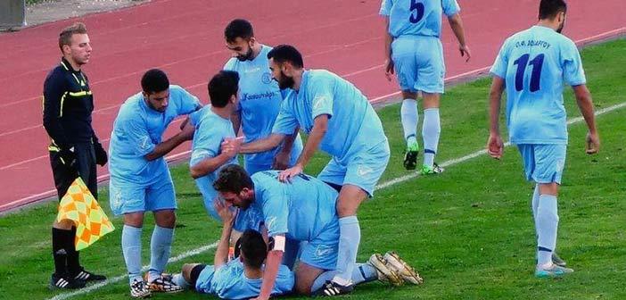 «Σίφουνας» στο Ρουφ ο Χολαργός «καθάρισε» την πρόκριση με 3-0