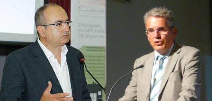 Κοινές δράσεις συζήτησαν Ν. Μπάμπαλος και Μ. Καρπέτας