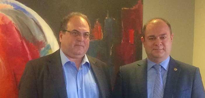 Με τον νέο πρέσβη της Αρμενίας στην Ελλάδα συναντήθηκε ο δήμαρχος Χαλανδρίου
